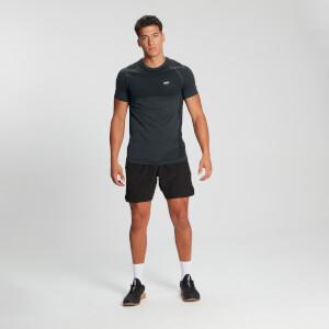 MP Men's Essential Short Sleeve Seamless T-Shirt - Carbon Marl