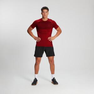 MP Men's Essential Short Sleeve Seamless T-Shirt - Danger Marl
