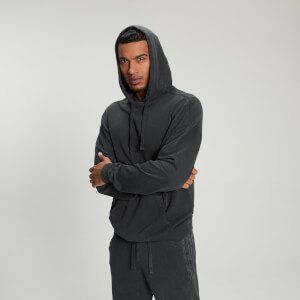 MP Men's Raw Training Hoodie - Washed Black