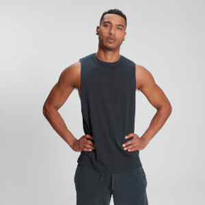 MP Men's Raw Training Tank Top - Washed Black