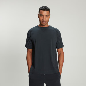 MP Men's Raw Training T-Shirt - Washed Black
