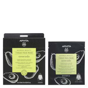 APIVITA Express Beauty Tissue Face Mask Moisturizing and Soothing with Avocado 10ml
