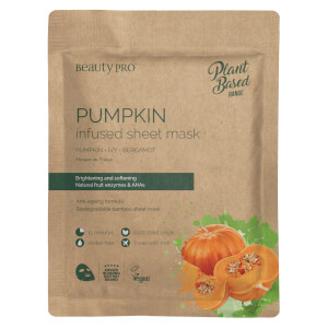 BeautyPro Pumpkin Infused Sheet Mask 22ml