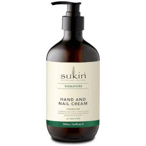 Sukin Hand and Nail Cream 500ml