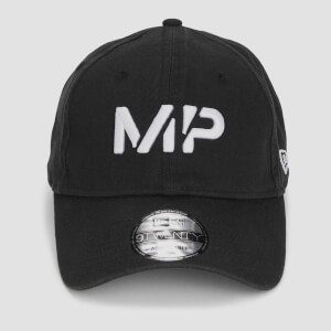 MP New Era 9TWENTY Baseball Cap - Black/White