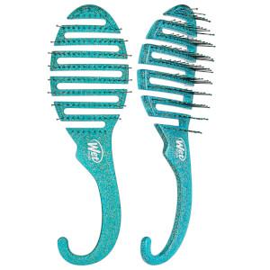 WetBrush Shower Glitter Detangler Brush - Teal