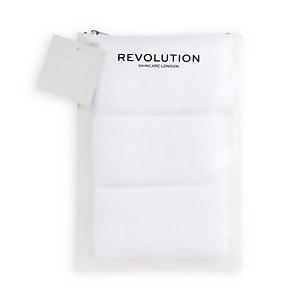 Revolution Skincare Microfibre Face Cloths 50ml