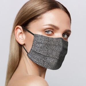 Slip Reusable Face Covering - Leopard