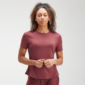 MP Women's Velocity Short Sleeve Top- Claret