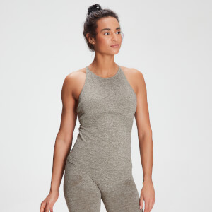 MP Women's Raw Training Seamless Vest - Taupe