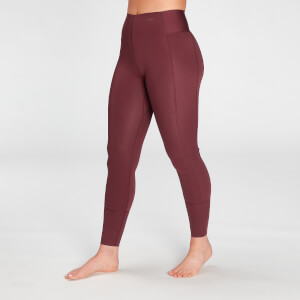 MP Women's Composure Repreve® Leggings - Washed Oxblood