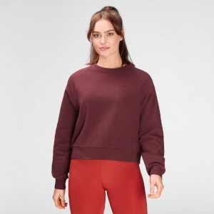 MP Women's Composure Sweatshirt- Washed Oxblood