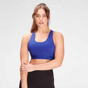 MP Women's Power Ultra Sports Bra- Cobalt