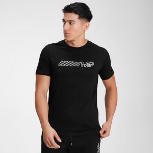 MP Men's Outline Graphic Short Sleeve T-Shirt - Black