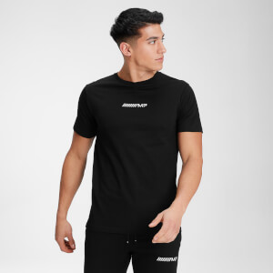 MP Men's Contrast Graphic Short Sleeve T-Shirt - Black