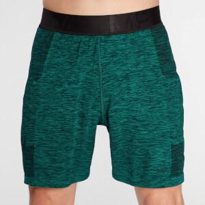 MP Men's Essential Seamless Shorts- Energy Green Marl