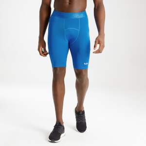 MP Men's Essentials Training Baselayer Short - True Blue
