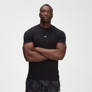 MP男士Adapt系列drirelease®霓虹迷彩印花T恤 - 黑