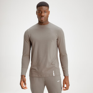 MP Men's Luxe Classic Long Sleeve Crew Top - Taupe