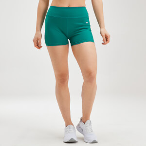 MP Women's Power Booty Shorts - Energy Green