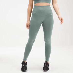 MP Women's Shape Seamless Ultra Leggings - Washed Green