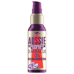Aussie 3 Miracle Hair Oil Reconstructor Lightweight Treatment 100ml