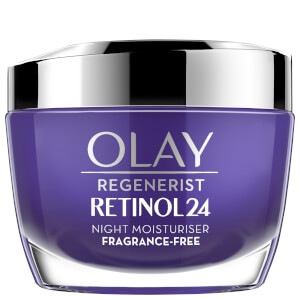 Olay Retinol 24 Fragrance Free Night Face Cream for Smooth and Glowing Skin 50ml