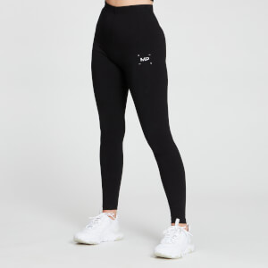 MP Women's Central Graphic Leggings - Black