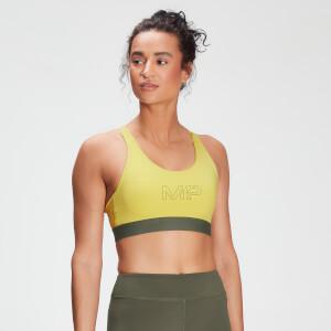 MP女士Branded Training系列运动内衣 - 水洗黄