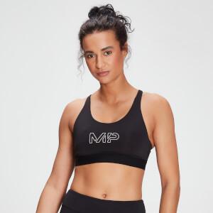 MP女士Branded Training系列运动内衣 - 黑