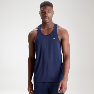 MP Men's Essentials Training Stringer Vest - Navy