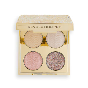 Revolution Pro Crystal Eye Quad - Champagne Crystal 0.8g