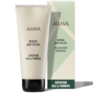 AHAVA Renewal Kale and Turmeric Body Peeling Scrub 200ml