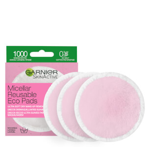 Garnier Micellar Reusable Make-up Remover Eco Pads