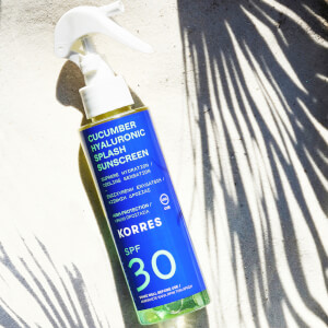 KORRES Cucumber Hyaluronic SPF30 Splash Sunscreen 150ml