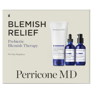 Perricone MD Blemish Relief Prebiotic Blemish Therapy 90 Day Regimen Kit
