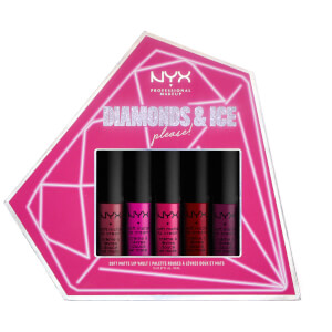 NYX Professional Makeup Diamonds and Ice Please Soft Matte Lip Cream Liquid Lip Stick Vault