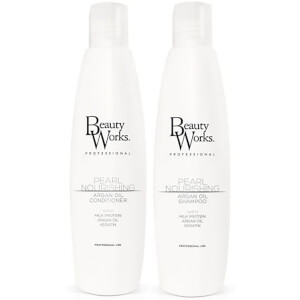 Beauty Works Pearl Nourishing Shampoo and Conditioner Duo 250ml