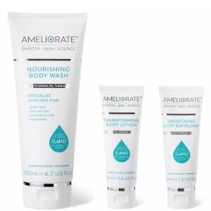 AMELIORATE Nourishing Body Wash and More Trio