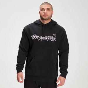 MP X Zack George Men's Washed Hoodie - Black