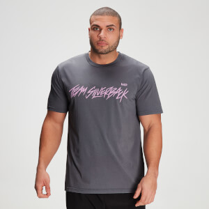 MP X Zack George Men's Washed T-Shirt - Carbon