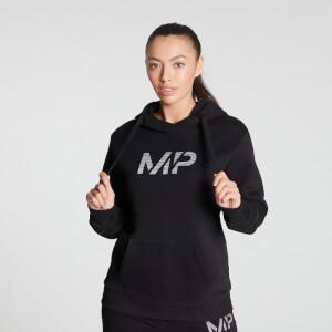 MP Women's Gradient Line Graphic Hoodie - Black