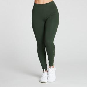 MP Women's Gradient Line Graphic Legging - Dark Green