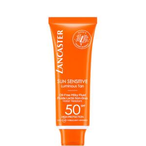 Lancaster Sun Sensitive Oil-Free Face Sun Protection Cream SPF50 50ml