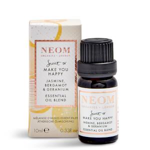 NEOM Jasmine, Bergamot and Geranium Essential Oil Blend 10ml