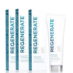 Regenerate Enamel Science Advanced Toothpaste Bundle (3 x 75ml)
